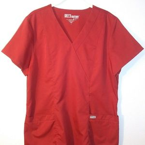 Nurses scrub top